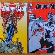 Cómics: ANIMAL MAN (NUEVO UNIVERSO DC) 1 Y 2. Lote 172434957
