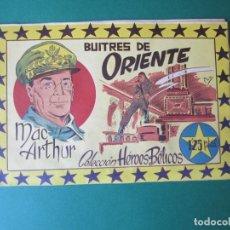 Cómics: HEROES BELICOS (1953, SIMBOLO) 7 · 26-I-1954 · MAC ARTHUR. BUITRES DE ORIENTE. Lote 172497408