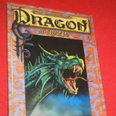 Cómics: THE BOOK OF THE DRAGON BY CIRUELO, 2000. Lote 172499667