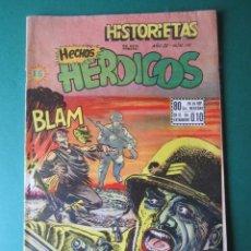 Cómics: HISTORIETAS : HECHOS HISTORICOS Nº 191 - EDITORIAL EL SOL MEXICO 1954. Lote 172505308