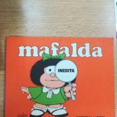 Cómics: MAFALDA INEDITA (LUMEN - 1988). Lote 172613860