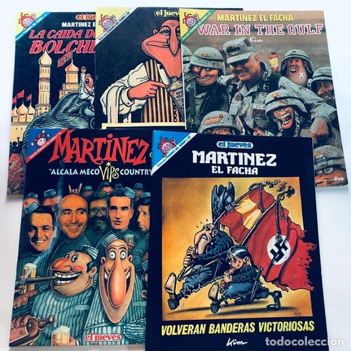 MARTINEZ EL FACHA / PENDONES DEL HUMOR / 5 EJEMPLARES ( 25-60-72-84-119 ) EL JUEVES (Tebeos y Comics - Comics otras Editoriales Actuales)
