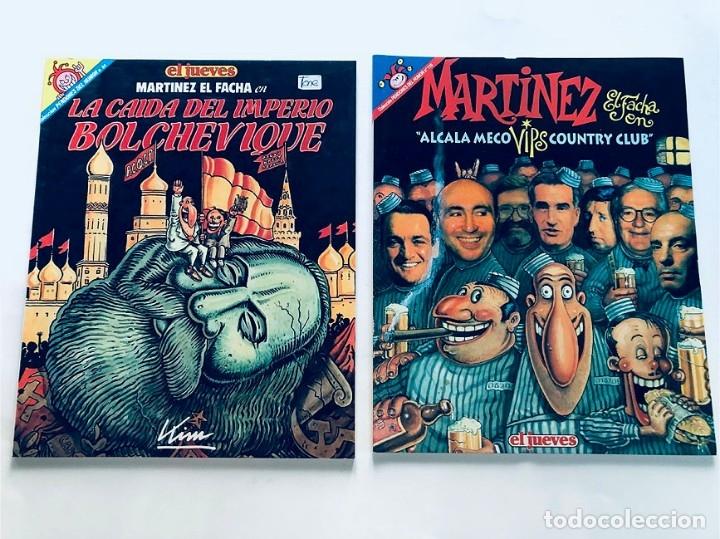 Cómics: MARTINEZ EL FACHA / PENDONES DEL HUMOR / 5 EJEMPLARES ( 25-60-72-84-119 ) EL JUEVES - Foto 2 - 172871985