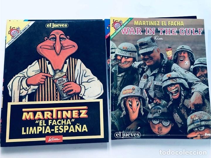 Cómics: MARTINEZ EL FACHA / PENDONES DEL HUMOR / 5 EJEMPLARES ( 25-60-72-84-119 ) EL JUEVES - Foto 3 - 172871985
