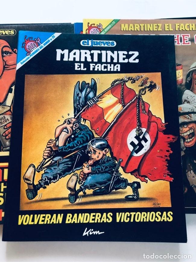Cómics: MARTINEZ EL FACHA / PENDONES DEL HUMOR / 5 EJEMPLARES ( 25-60-72-84-119 ) EL JUEVES - Foto 4 - 172871985