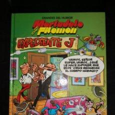 Cómics: GRANDES DEL HUMOR DEL HUMOR MORTADELO Y FILEMON EXPEDIENTE J PERIODICO. Lote 172892575