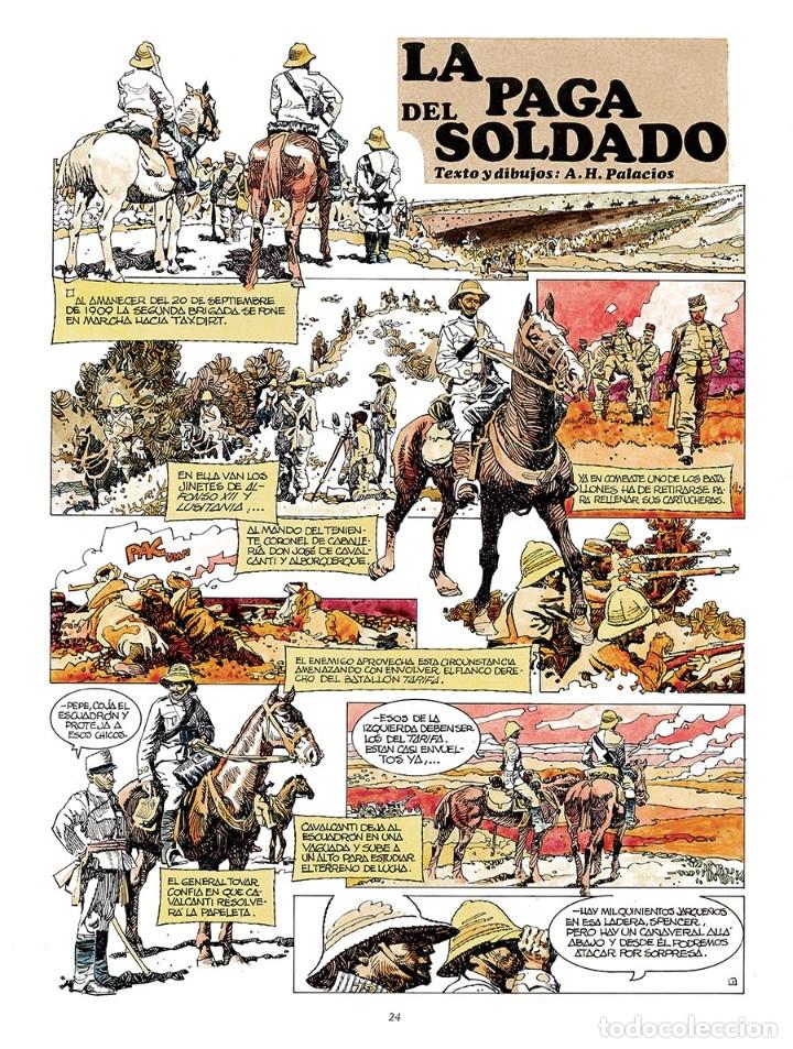 Cómics: Cómics. La paga del soldado - Antonio Hernández Palacios (Cartoné) - Foto 2 - 289216673