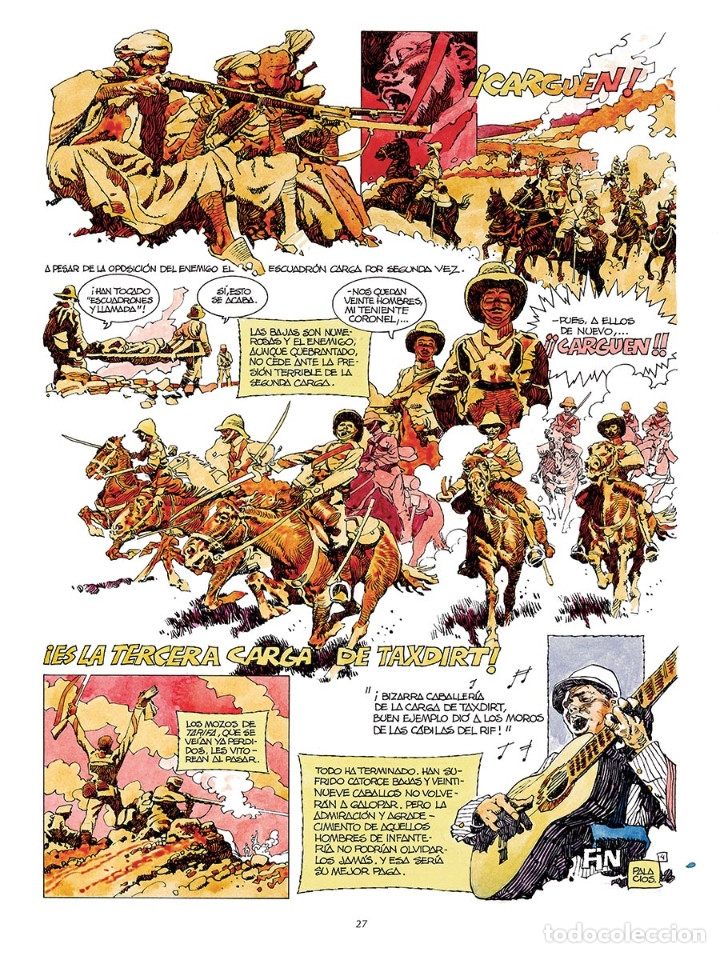 Cómics: Cómics. La paga del soldado - Antonio Hernández Palacios (Cartoné) - Foto 5 - 289216673