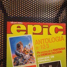 Cómics: COMIC - EPIC (TOMO CON NºS 1, 2 Y 3) - DISTRINOVEL 1982 - REVISTA COMIC FANTASIA - MARVEL. Lote 172937988