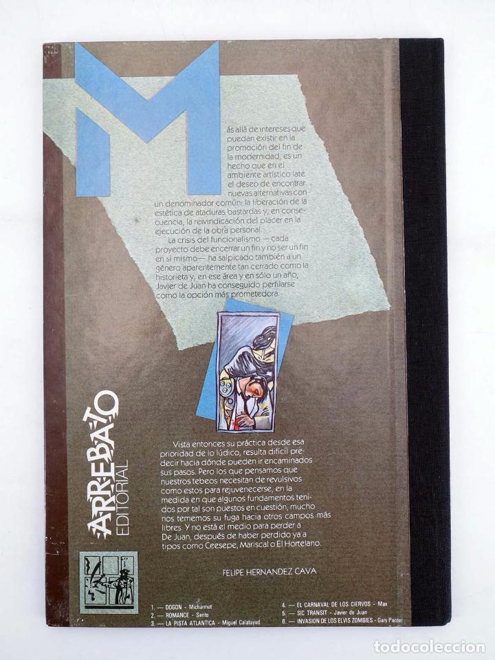 Cómics: COLECCIÓN IMPOSIBLE 5. SIC TRANSIT O LA MUERTE DE OLIVARES (Javier de Juan) Arrebato, 1984. OFRT - Foto 2 - 172960377