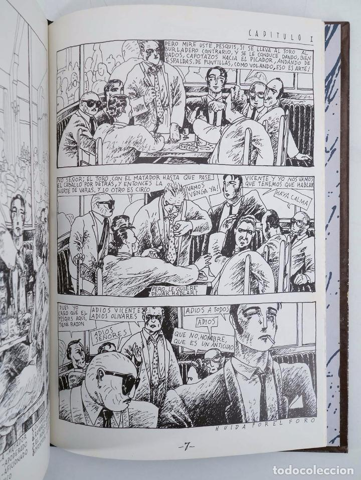 Cómics: COLECCIÓN IMPOSIBLE 5. SIC TRANSIT O LA MUERTE DE OLIVARES (Javier de Juan) Arrebato, 1984. OFRT - Foto 4 - 172960377