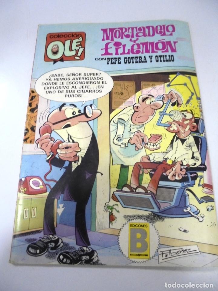 TEBEO. COLECCION OLE!. MORTADELO Y FILEMON CON PEPE GOTERA Y OTILIO. 245.EDICIONES B (Tebeos y Comics - Comics otras Editoriales Actuales)