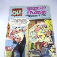 Cómics: TEBEO. COLECCION OLE!. MORTADELO Y FILEMON CON PEPE GOTERA Y OTILIO. 245.EDICIONES B. Lote 172990799