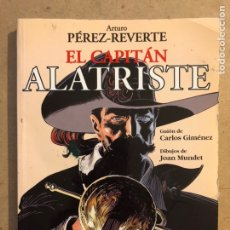 Cómics: EL CAPITÁN ALATRISTE (ARTURO PÉREZ REVERTE). GUIÓN: CARLOS GIMÉNEZ DIBUJOS: JOAN MUNDET.. Lote 173030055