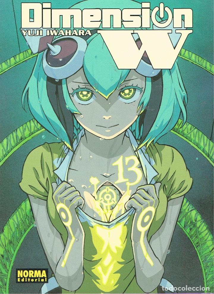DIMENSION W Nº 13. MANGA.NORMA EDITORIAL (Tebeos y Comics Pendientes de Clasificar)