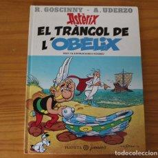 Cómics: ASTERIX EL TRANGOL DE L'OBELIX, GOSCINNY UDERZO. PLANETA JUNIOR 1996 COMIC CATALA TAPA DURA. Lote 173396960