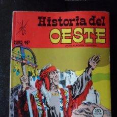 Cómics: HISTORIA DEL OESTE - TOMO 14 - 1969 , EDITORIAL EUREDIT . Lote 173403779