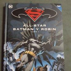 Cómics: ALL-STAR BATMAN Y ROBIN PARTE 1 ESTADO IMEPCABLE TAPA DURA MAS ARTICULOS NEGOCIABLE. Lote 173405934