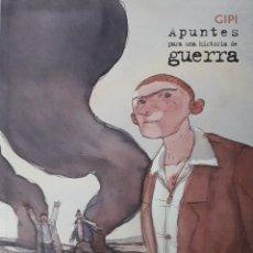 Cómics: APUNTES PARA UNA HISTORIA DE GUERRA. GIPI.. Lote 173411674