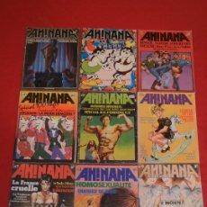 Cómics: AH! NANA - COMPLETO TODOS LOS NUMEROS 1 AL 9 -ED.HUMANOIDES ASSOCIES 1976-1978. Lote 173452474