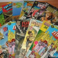 Cómics: LOTE DE 125 COMICS DE SUPER HEROES Y SIMILAR. SUPERMAN, SPIDERMAN, SUPERBOY, ALIENS, WATCHMEN, ETC.. Lote 173473182