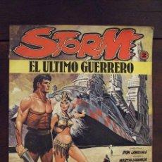 Cómics: STORM Nº 2 - EL ÚLTIMO GUERRERO - LAWRENCE & LODEWIJK - SARPE 1984. Lote 173482527