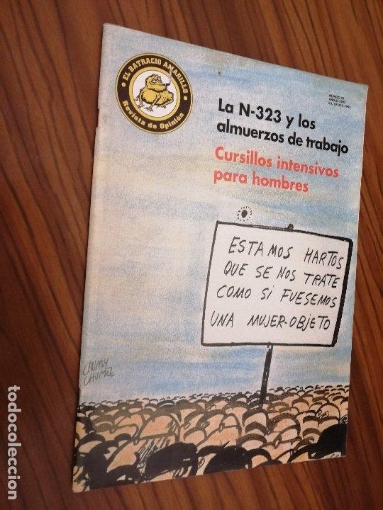 EL BATRACIO AMARILLO 23. REVISTA DE HUMOR DE GRANADA. GRAPA. BUEN ESTADO. RARA. (Tebeos y Comics - Comics otras Editoriales Actuales)