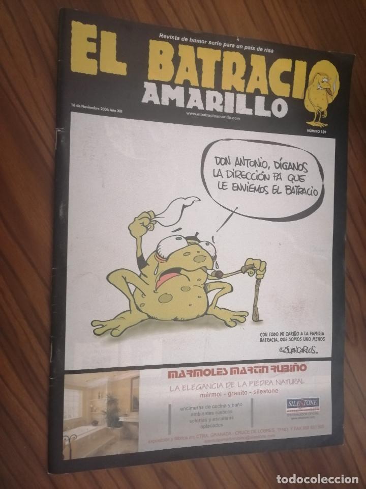 EL BATRACIO AMARILLO 139. REVISTA DE HUMOR DE GRANADA. GRAPA. BUEN ESTADO. RARA. (Tebeos y Comics - Comics otras Editoriales Actuales)