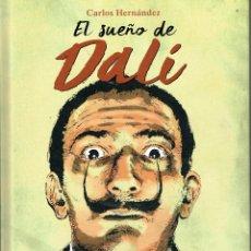 Cómics: EL SUEÑO DE DALÍ,DEDICADO.NORMA EDITORIAL.. Lote 173787397