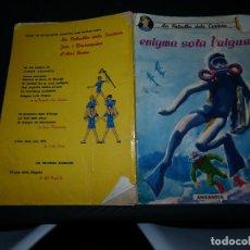 Cómics: PATRULLA DELS CASTORS ENIGMA SOTA L AIGUA COMIC CATALAN 1966 ANXANETA LIGERAMENTE DETERIORADO. Lote 173820745