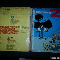 Cómics: LAS AVENTURAS DE SPIROU Y FANTASIO EL RETORNO DE Z 1972 JAIMES SIN LOMO. Lote 173820844