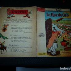 Cómics: COLECCION PILOTO ASTERIX EL GALO LA HOZ DE ORO MOLINO RARO 1966 . Lote 173820882