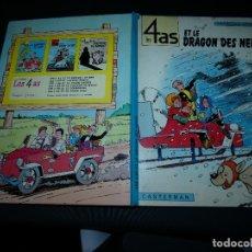 Cómics: LES 4 AS ET LE DRAGON DES NEIGES COMIC FRANCOBELGA ORIGINAL FRANCES 1968. Lote 173820947