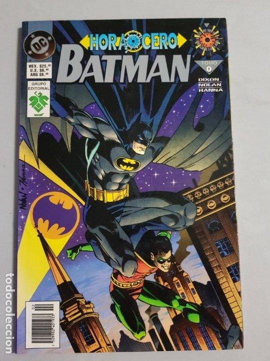 HORA CERO BATMAN ESTADO MUY BUENO MAS ARTICULOS NEGOCIABLE (Tebeos y Comics - Comics otras Editoriales Actuales)