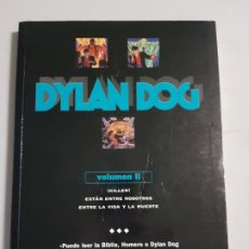 Cómics: DYLAN DOG VOLUMEN II TAPA CARTONE TOMO ESTADO NORMAL MAS ARTICULOS NEGOCIABLE. Lote 173822755