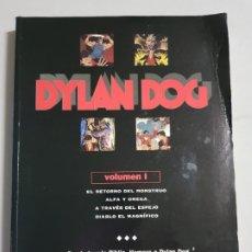 Cómics: DYLAN DOG VOLUMEN I TAPA CARTONE TOMO ESTADO NORMAL MAS ARTICULOS NEGOCIABLE. Lote 173822758