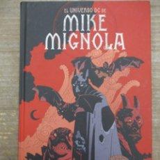 Cómics: EL UNIVERSO DE MIKE MIGNOLA - TOMO 496 PAGINAS - DC COMICS / ECC / PLANETA. Lote 183645901
