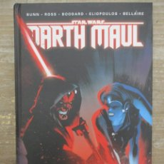 Cómics: STAR WARS - DARTH MAUL - TOMO RECOPILATORIO - TAPA DURA - PLANETA COMIC. Lote 173836429
