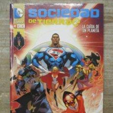 Cómics: SOCIEDAD DE TIERRA 2 - LA CAIDA DE UN PLANETA - DC COMICS - ECC. Lote 173839938