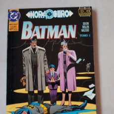 Cómics: BATMAN HORA CERO TOMO 0 ESTADO NORMAL MAS ARTICULOS NEGOCIABLE. Lote 173843772