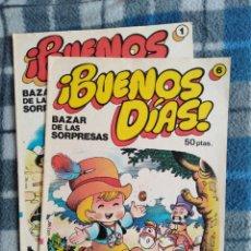 Cómics: LOTE 2 CUENTOS - BUENOS DIAS. Lote 173978103