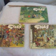 Cómics: GILES, CARTOONS, HUMOR GRÁFICO INGLÉS, 3 TOMOS. 1976-1980 SUNDAY EXPRESS & DAILY EXPRESS. Lote 174163560