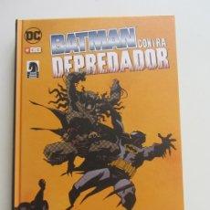 Cómics: BATMAN CONTRA DEPREDADOR GIBBONS MOENCH DIXON KUBERT GULACY TAPA DURA DC - ECC -. Lote 174207722