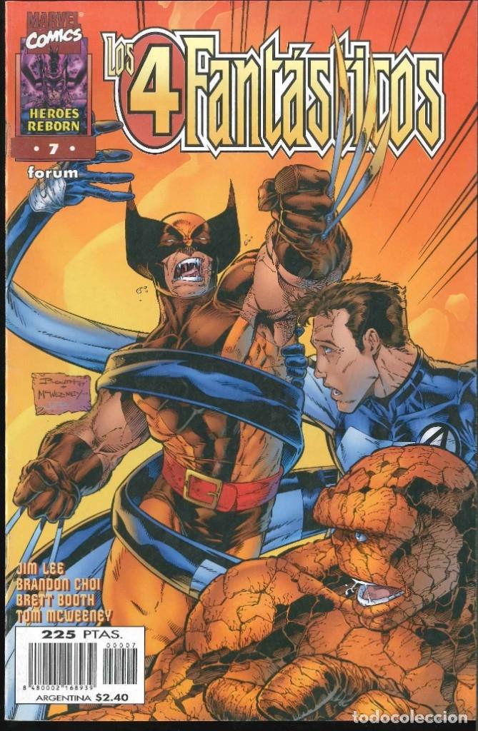 LOS 4 FANTÁSTICOS HÉROES REBORN NÚMERO 7 CÓMICS FÓRUM MARVEL (Tebeos y Comics - Comics otras Editoriales Actuales)