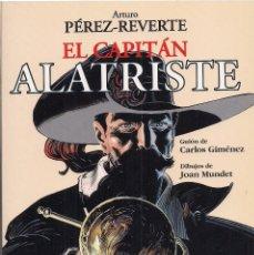 Cómics: EL CAPITÁN ALATRISTE. GUIÓN DE CARLOS GIMÉNEZ. DIBUJOS DE JOAN MUNDET. (DEBOLSILLO, 2005). Lote 174296957