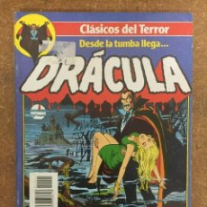 Comics: CLÁSICOS DEL TERROR: DRÁCULA NºS 1 AL 5. RETAPADO. Lote 174299084