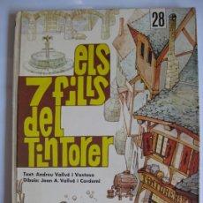 Cómics: ELS 7 FILLS DEL TINTORER - L`OCELL DE PAPER PUBLICACIONS DE L`ABADIA DE MONTSERRAT. Lote 174299927
