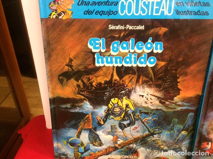 Cómics: Cómic de cousteau - Foto 8 - 194091406