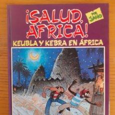 Cómics: ¡ SALUD, ÁFRICA ! PUEBLA Y KEBRA EN ÁFRICA. JANO. 8440613210. Lote 174408949