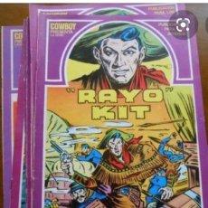 Cómics: RAYO KIT COLECCIÓN COMPLETA (12 NÚMEROS). EDICIONES TORAY 1982. Lote 21672437